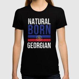 GA Georgia Native Gift for Home State Pride Residents from Atlanta, Savannah, Columbus T-shirt