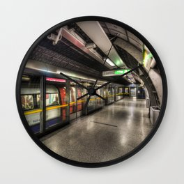 Mind The Gap Wall Clock
