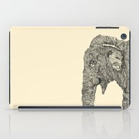 elephant iPad Cases featuring Elephant by Struan Teague