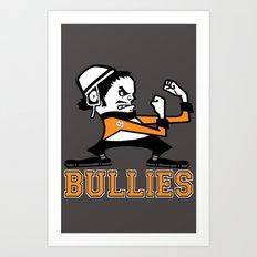 Bullies of Broad Street  Art Print