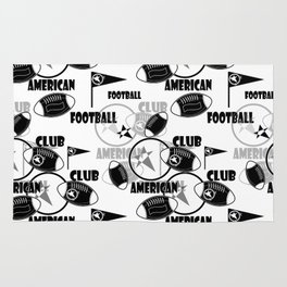 American football 1 Rug