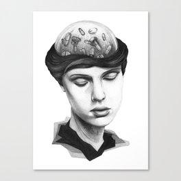 ME DA VERGÜENZA SER FELIZ #1 Canvas Print