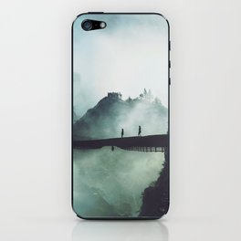 Misty Mountains iPhone Skin