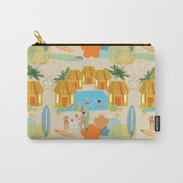 Tiki Surf Carry-All Pouch