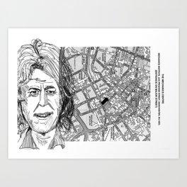 give us yer fuckin' money Art Print