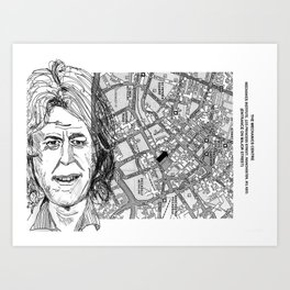 give us yer fuckin' money Art Print