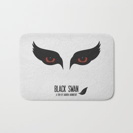 Black Swan Bath Mat