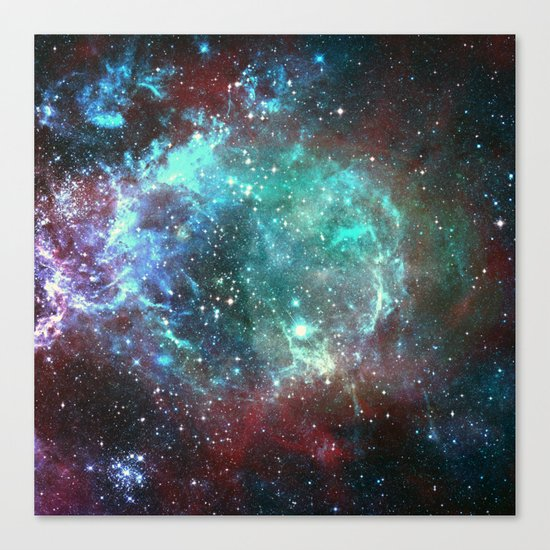 Star field in space Canvas Print