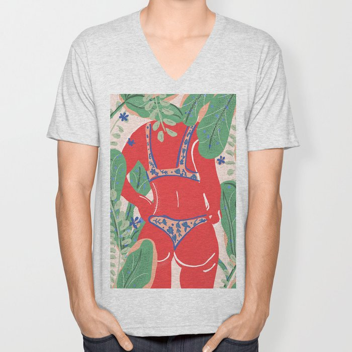 The Art Of Bikini Unisex V-Neck