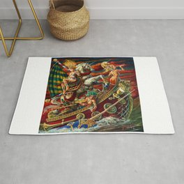 Party Boat to Atlantis Rug