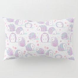 Spring Hedgehog Pattern Pillow Sham