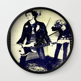 The tragedy of rock star Wall Clock