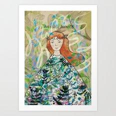 The Forest Princess Art Print