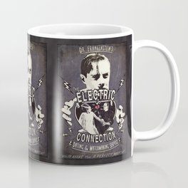 Dr. Frankenstein's The Electric Connection: Dating & Matchmaking Service- Old Metal Sign Coffee Mug