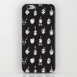 skulls iPhone Skin