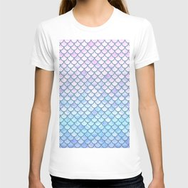 Lavender Mermaid Scales T-shirt