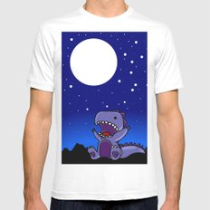 Good Night Moon Mens Fitted Tee White MEDIUM