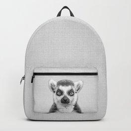 Lemur 2 - Black & White Backpack