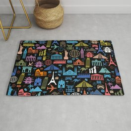 LET'S TRAVEL AROUND THE WORLD!!! Rug