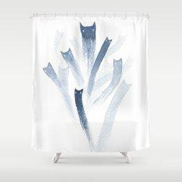 unnus Shower Curtain