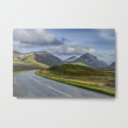 The Cuillin Mountains of Skye 2 Metal Print