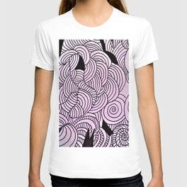 Ether Formation Black and White T-shirt