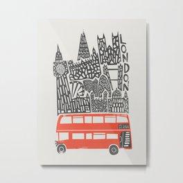 London Cityscape Metal Print