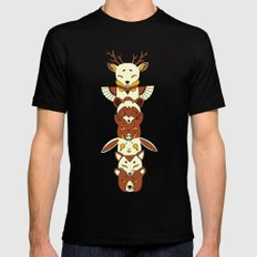 Totem MEDIUM Black Mens Fitted Tee