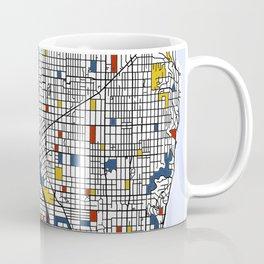 Seattle Mondrian Coffee Mug