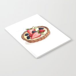 Desserts: Fruit Tart Notebook