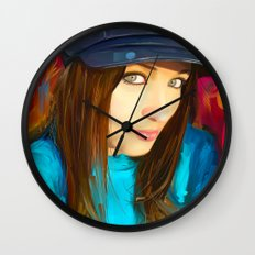 Colourful Vibes Wall Clock