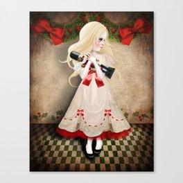 Clara and the Nutcracker Canvas Print