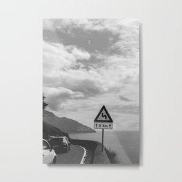Amalfi Coast Drive XXII Metal Print