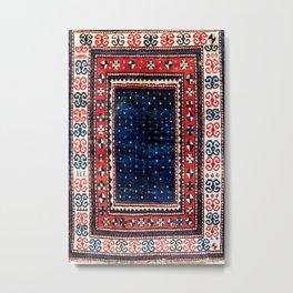 Kazak Southwest Caucasus Rug Metal Print