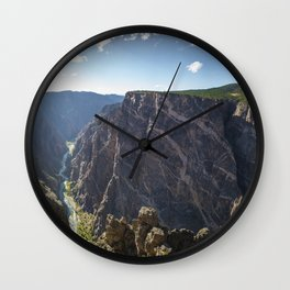 Black Canyon of the Gunnison National Park Wall Clock