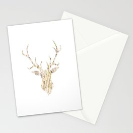 Upcycled Reindeer Stationery Cards