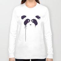 panda Long Sleeve T-shirts featuring Panda by Tobe Fonseca