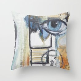 Dismantled Throw Pillow