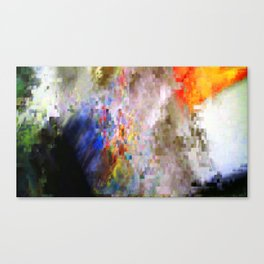 Glitch #1 Canvas Print