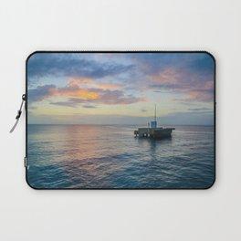 Sunset on the Atlantic Laptop Sleeve
