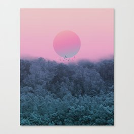 Landscape & gradients IV Canvas Print