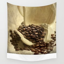 Coffee break in the morning time  Wall Tapestry