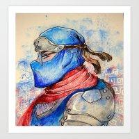 Design Ninja Art Print
