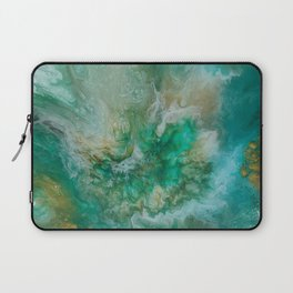 Dawning of a Galactic Planet Laptop Sleeve