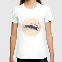 elk T-shirts featuring Elk by hipepper