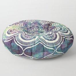 Galaxy Mandala : Deep Pastels Floor Pillow