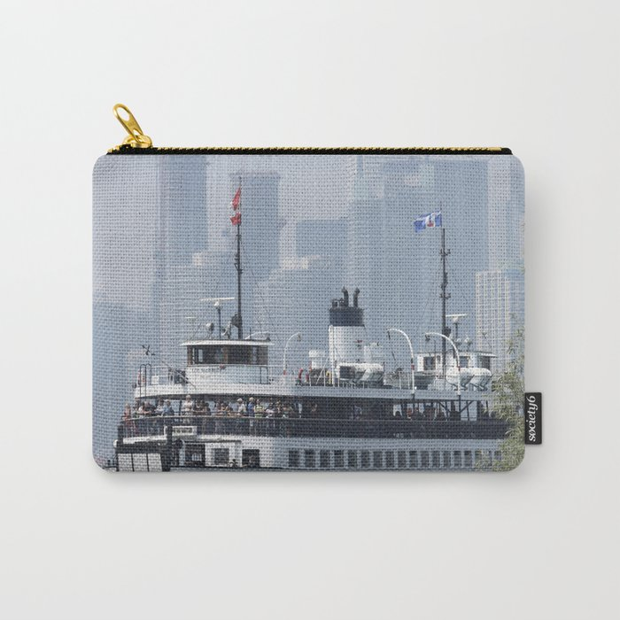Centre Island Ferry Summer Day Fine Art Photography Carry-All Pouch