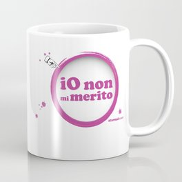 "Tazza ""Merito"" viola Coffee Mug"