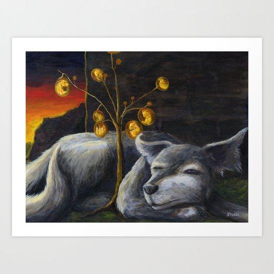 Dogwood Art Print