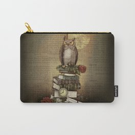 The Bibliophile - (the lover of books) Carry-All Pouch